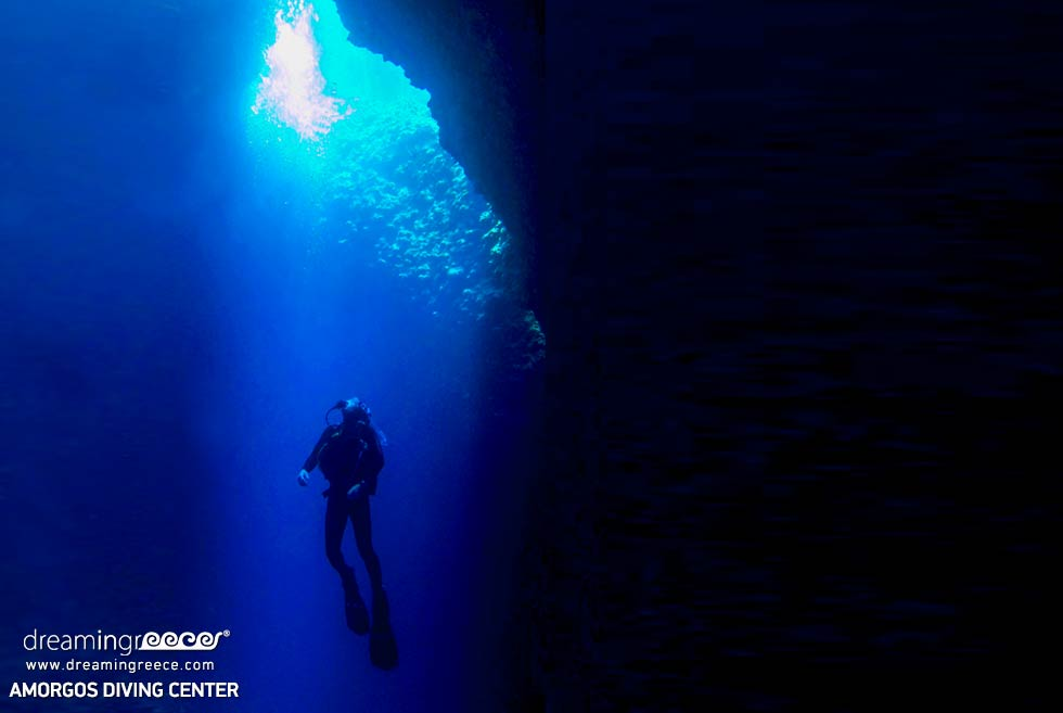 Amorgos Diving Center. Deep blue in Greece. Discover Greece