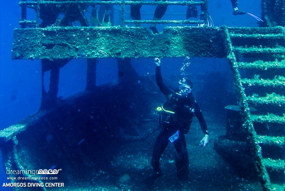 Amorgos Diving Center. Scuba diving in Greece