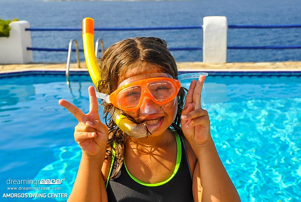 Amorgos Diving Center. Snorkelling Greece. Summer Holidays