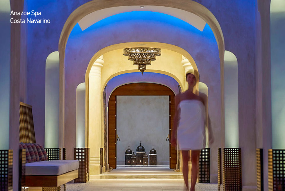 Costa Navarino. Anazoe Spa. Wellness in Greece. Travel Guide Greece.