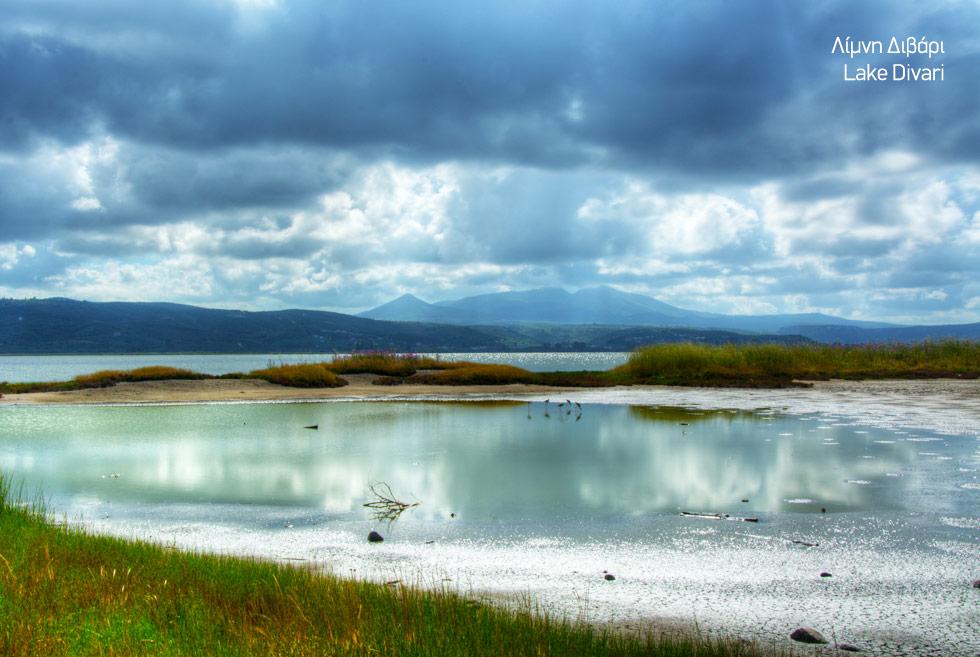 Holidays in Costa Navarino. Lake divari in Greece. Visit Greece.