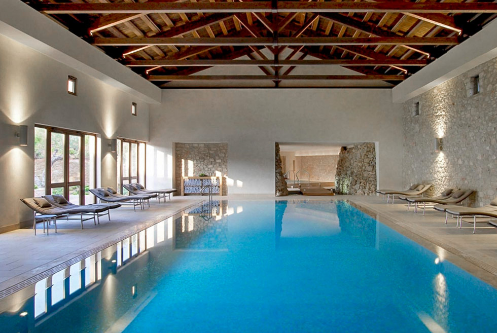 The Romanos, a Luxury Collection Resort. Hotel in Costa Navarino. Holidays in the Peloponnese.