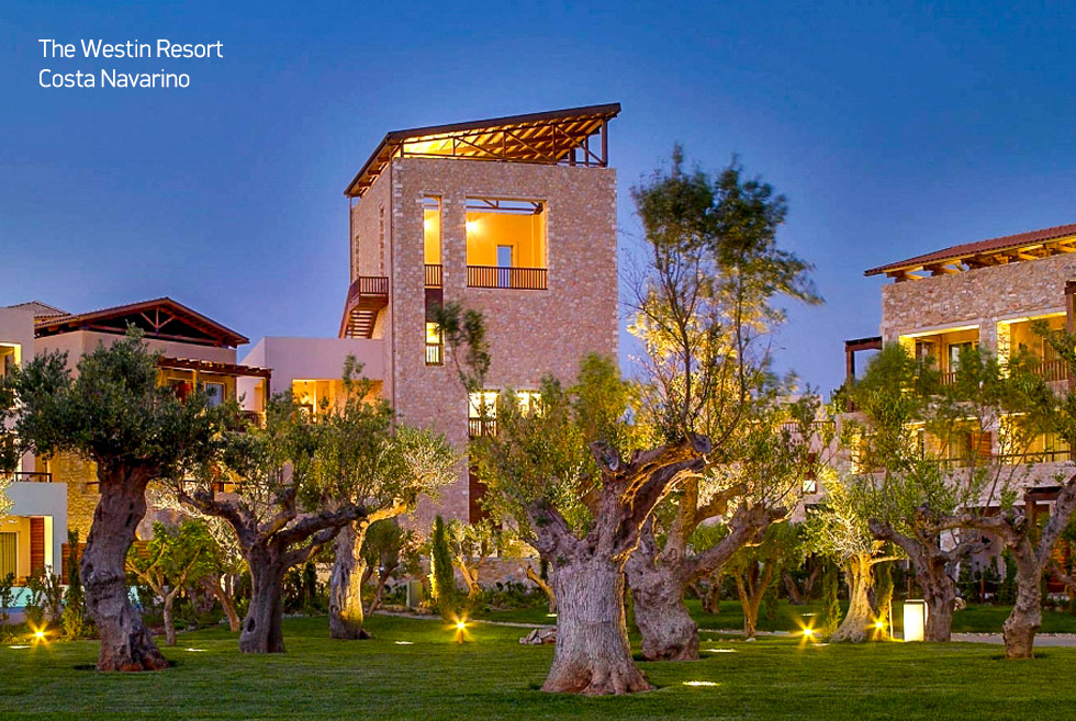 Costa Navarino. The Westin Resort. Hotels in Greece. Luxury Vacations.
