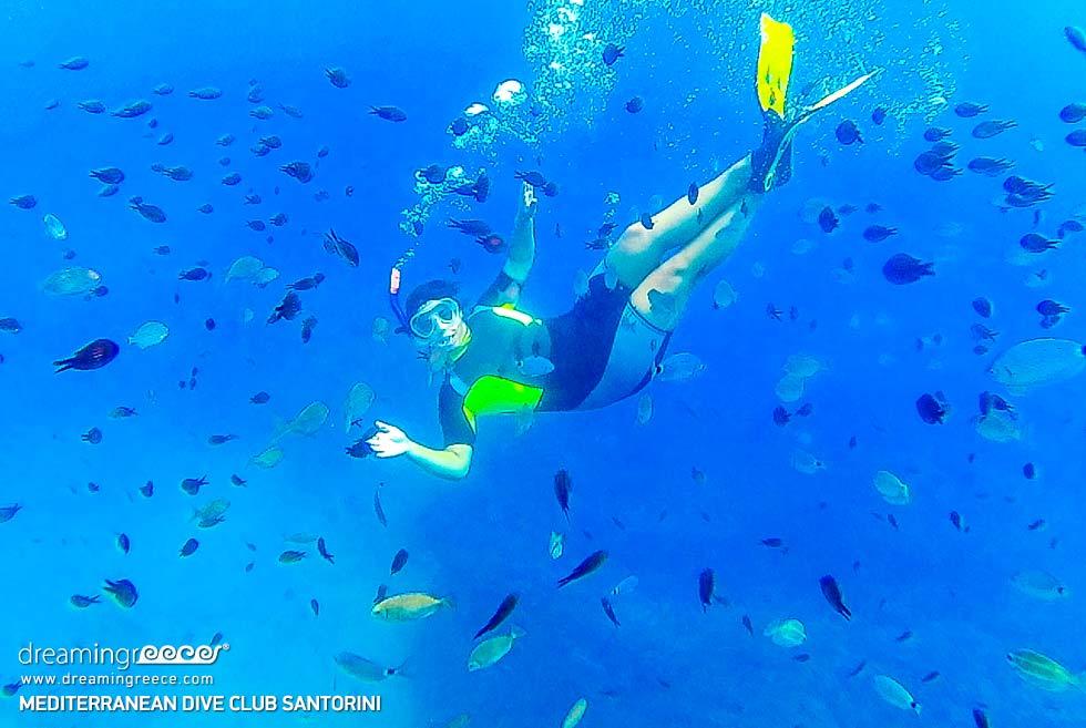 Scuba diving center in Santorini Greece. Diving Centers Greece