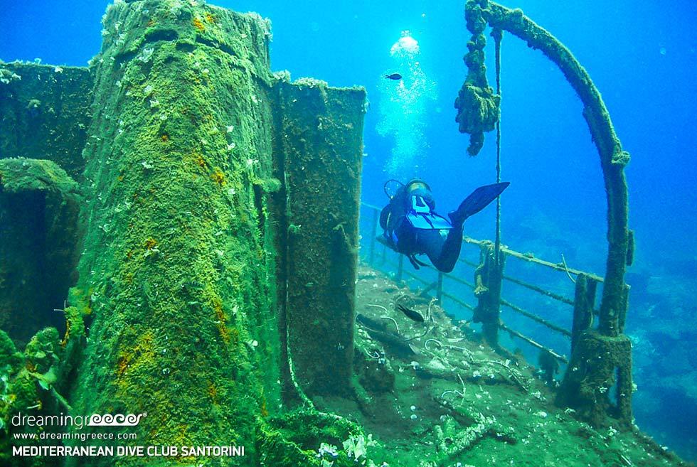 Mediterranean Dive Center Santorini. Diving in Santorini