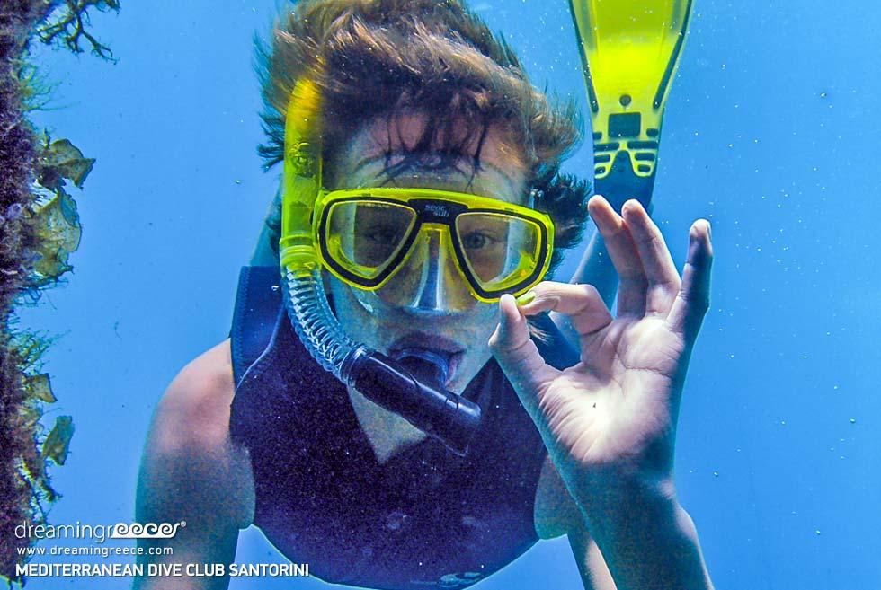 Santorini Dive Center. Diving in the greek islands