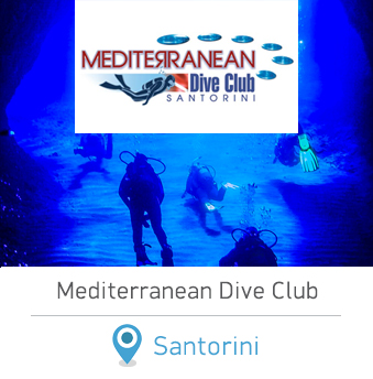 Mediterranean Dive Club Centre Greece Scuba Diving in Santorini