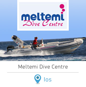 Meltemi Dive Center Ios Cyclades Greece Scuba Diving in Ios