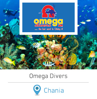 Omega Divers Chania Crete Scuba Diving in Chania Greece