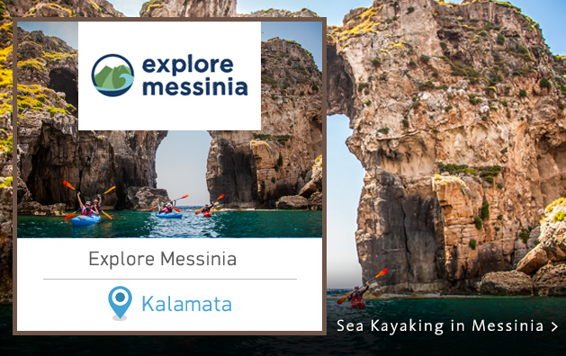 Explore Messinia. Sea Kayaking in Greece