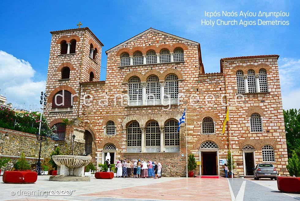 Agios Demetrios Church Thessaloniki. Explore Greece
