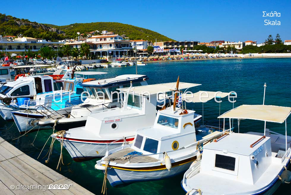 Travel Guide of Skala Agistri island Greece. Vacations Argosaronic islands.