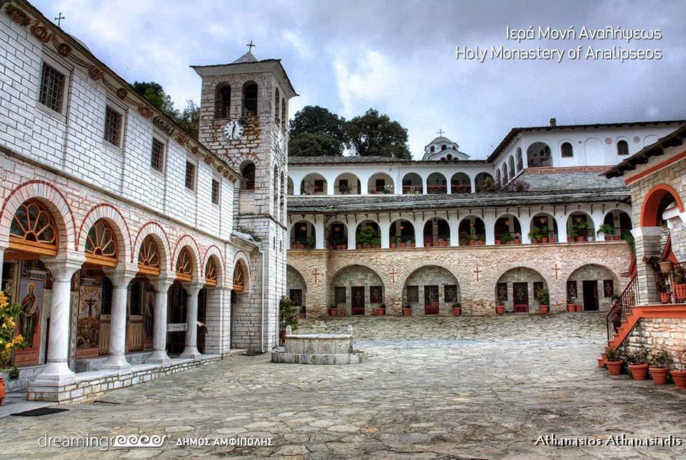 Monastery Panagia Eikosifonissas Amphipolis Greece. Discover Macedonia