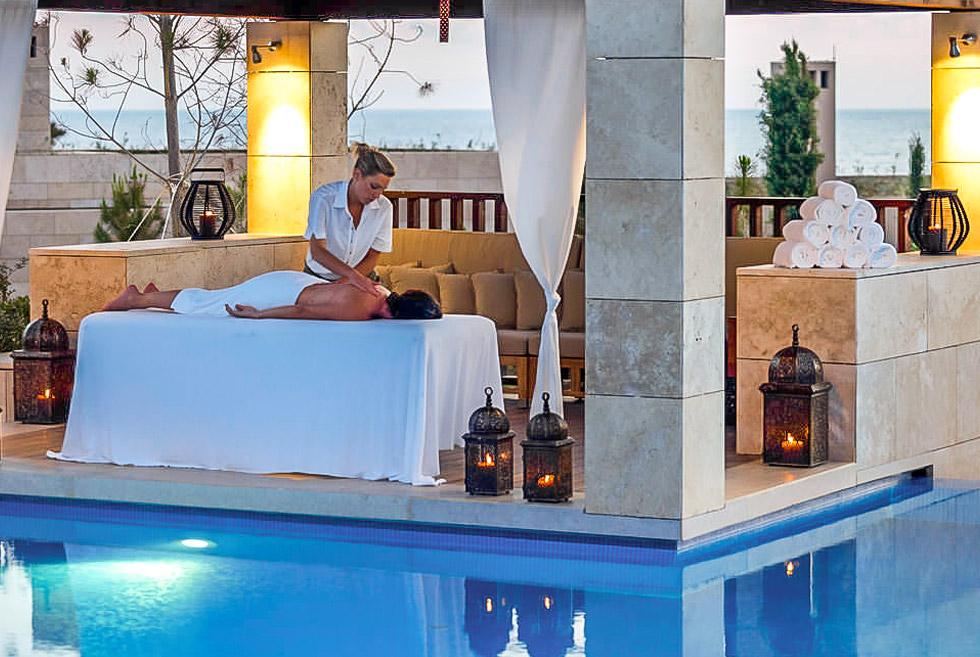 Anazoe Spa at Costa Navarino Messinia Peloponnese. Wellness in Greece.