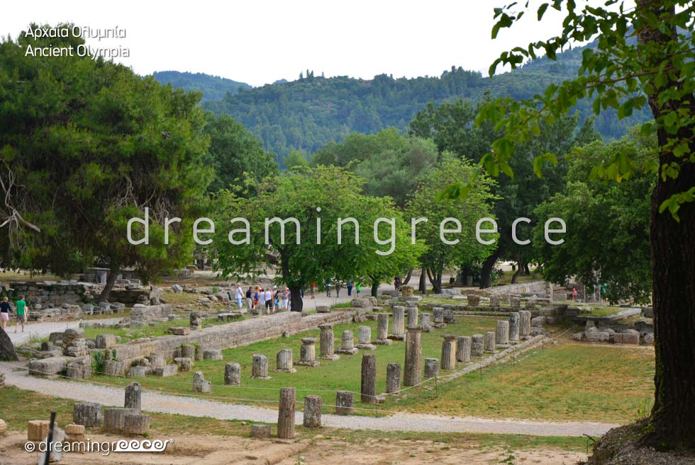 Ancient Olympia Elis Peloponnese Greece