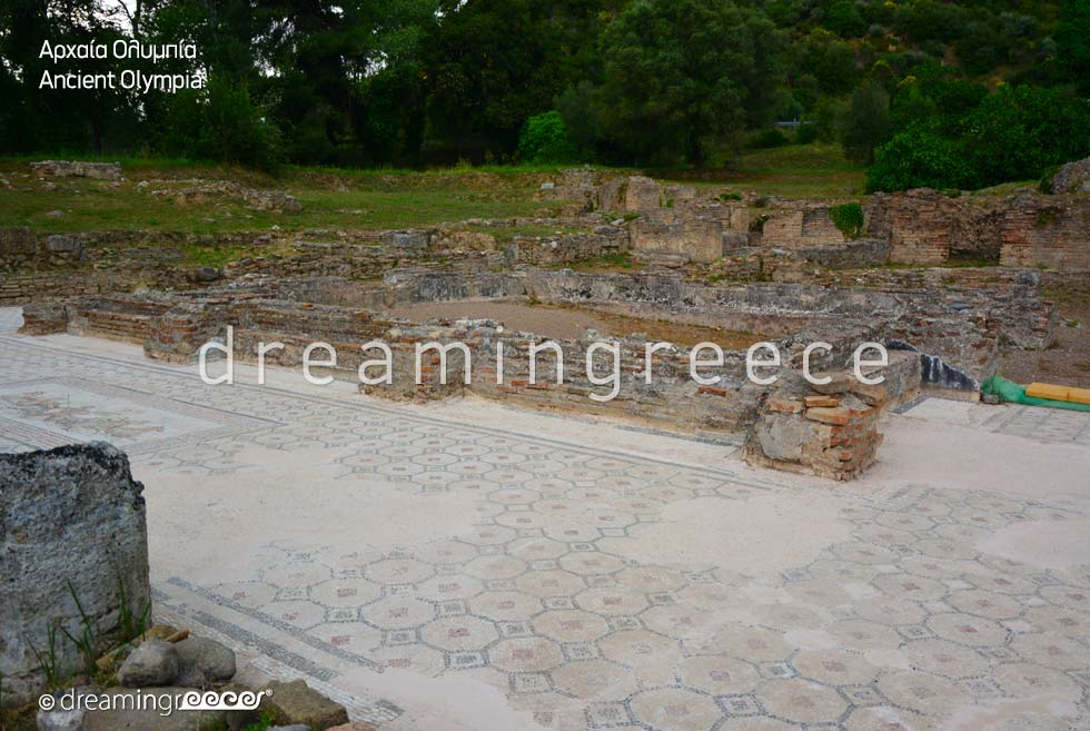Travel Guide of Ancient Olympia Elis Peloponnese Greece