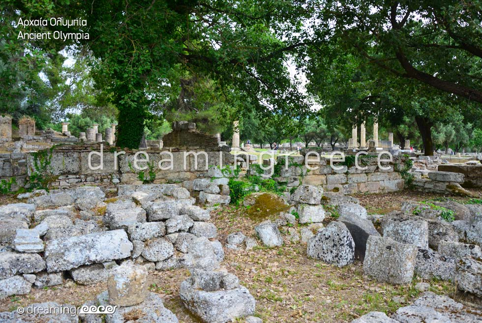 Vacations in Ancient Olympia Peloponnese Greece