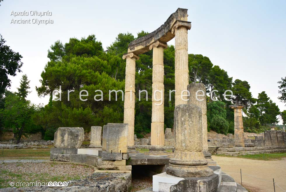 Archaeological Site of Olympia Peloponnese Greece
