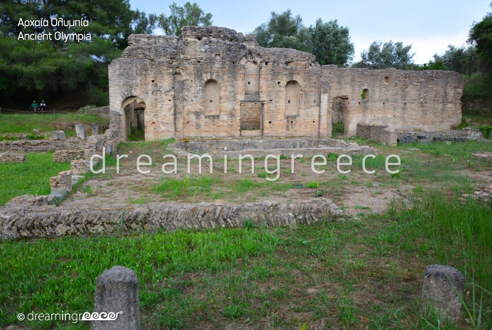 Travel guide of Ancient Olympia Ilia Peloponnese Greece
