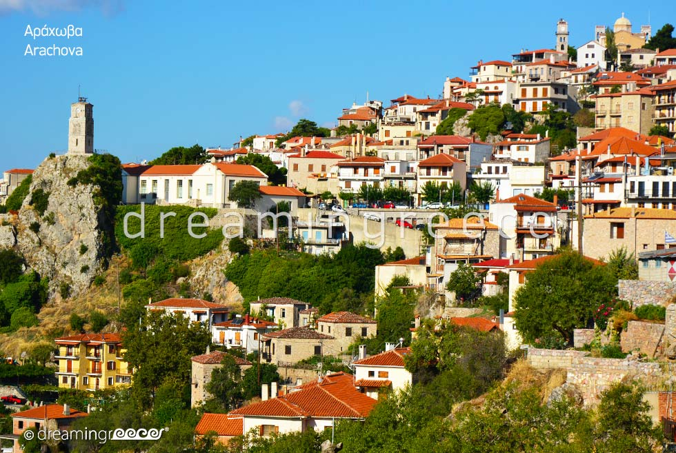 Holidays in Arachova Greece