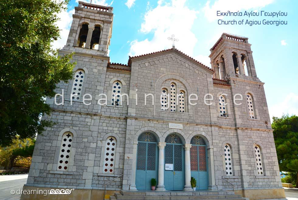 Agios Georgiou Church in Arachova