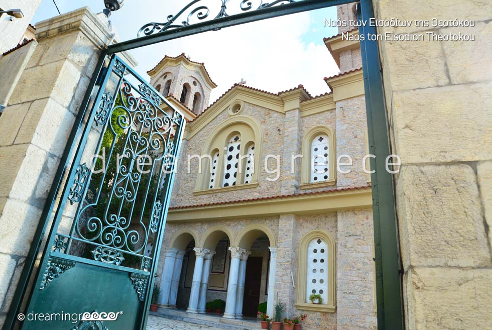 Churches in Arachova Greece
