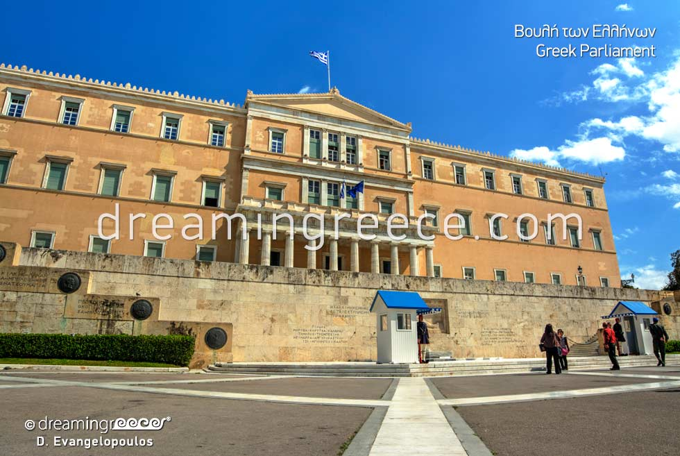 Greek Parliament Athens Travel Guide of Greece