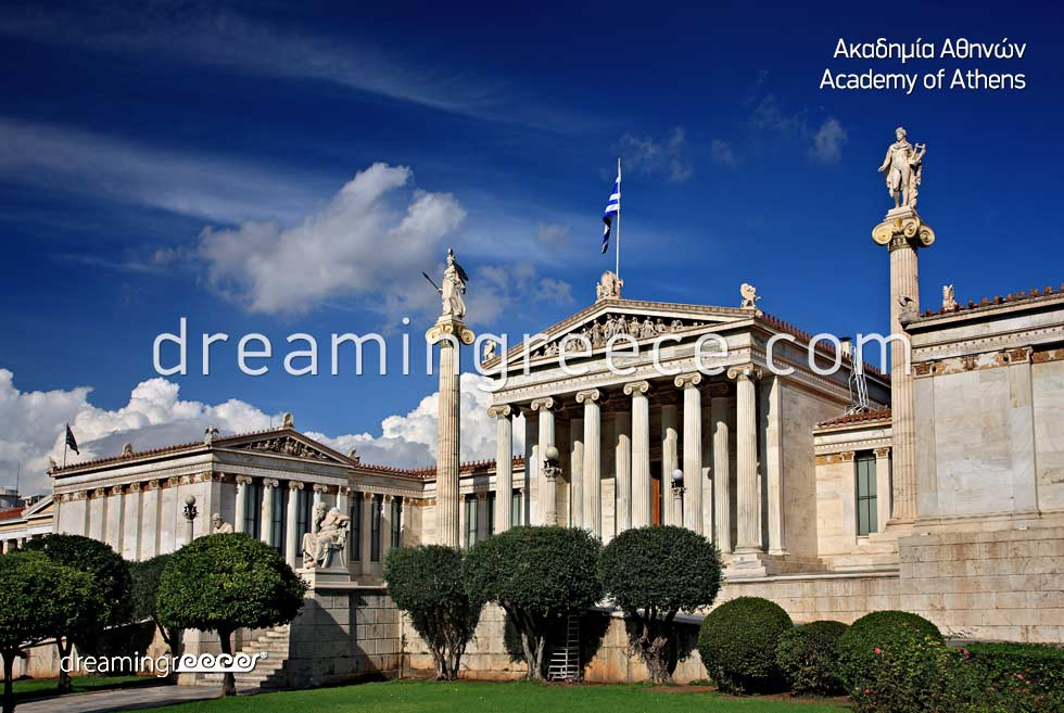 Visit Academy of Athens Greece