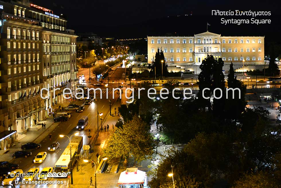 Tourist Guide Greece Syntagma Square Athens