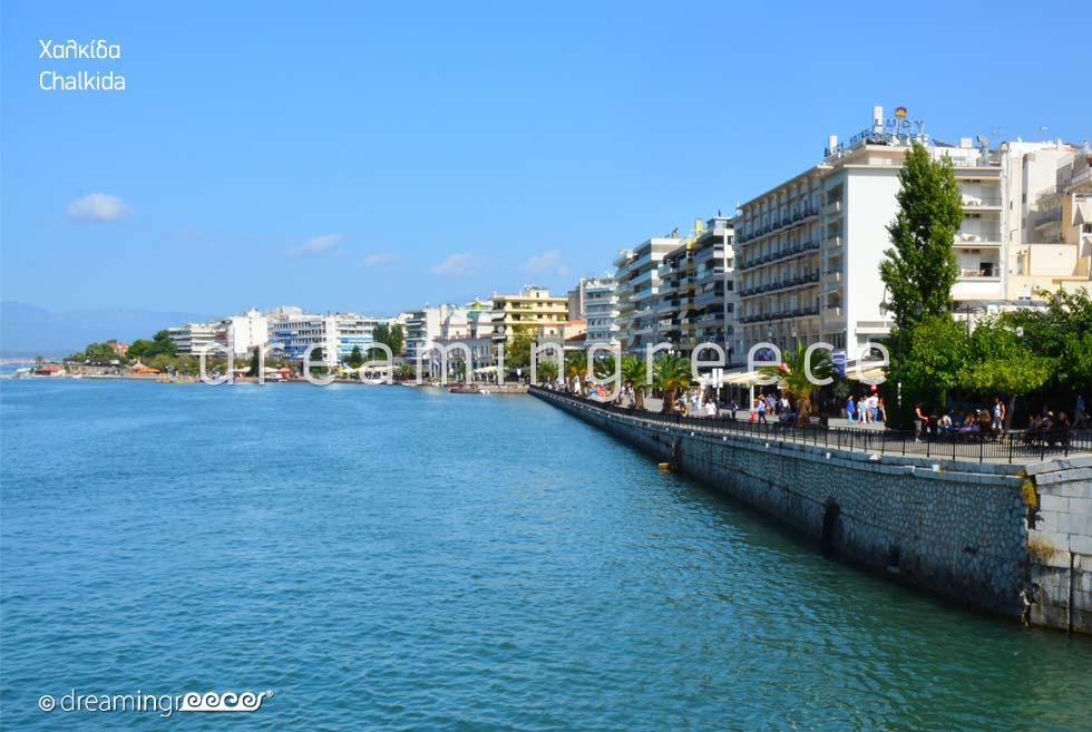 Discover Greece. Visit Chalkida. Summer Holidays.