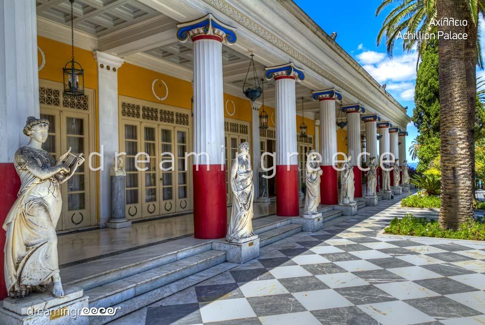 Discover Corfu island Kerkyra Greece - Achillion Palace