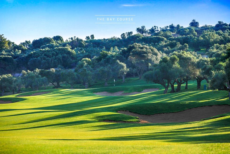 Costa Navarino Golf in Greece. The Bay Course. 5 star Hotels in Greece.
