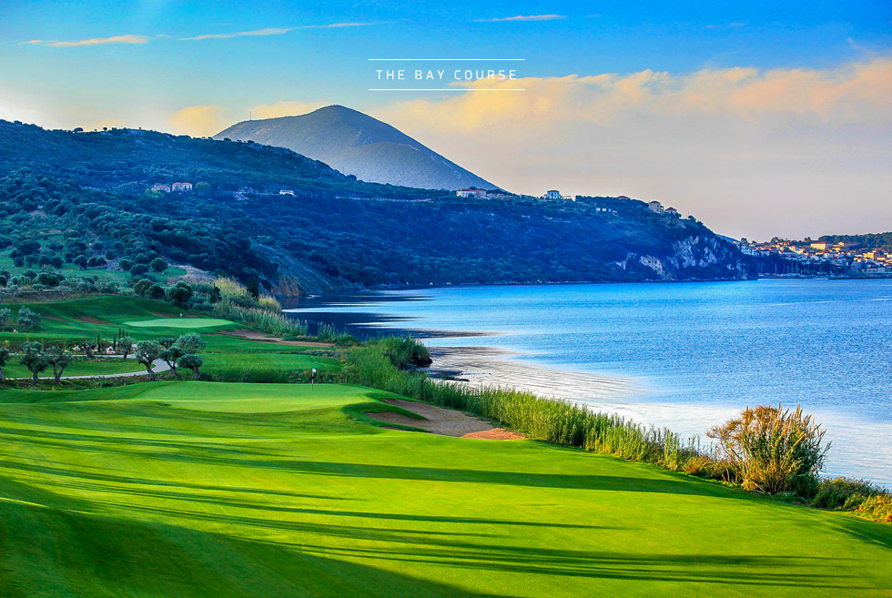 Costa Navarino Golf in Greece. The Bay Course. Holidays in Messinia.