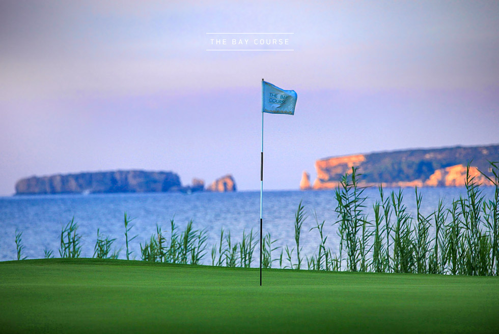 Costa Navarino Golf in Greece. The Bay Course. Golf Courses in Peloponnese.