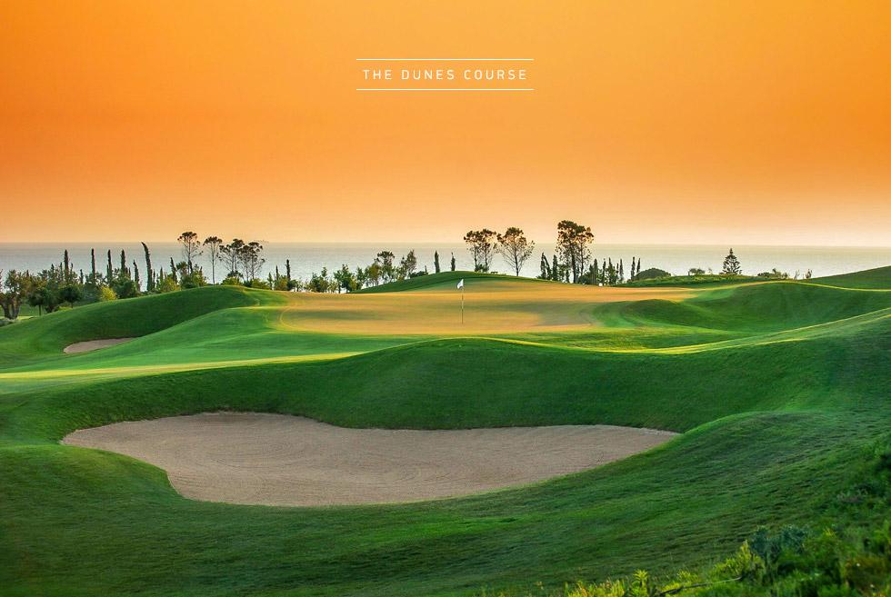 Costa Navarino Golf in Greece. The Dunes Course. Discover Greece.