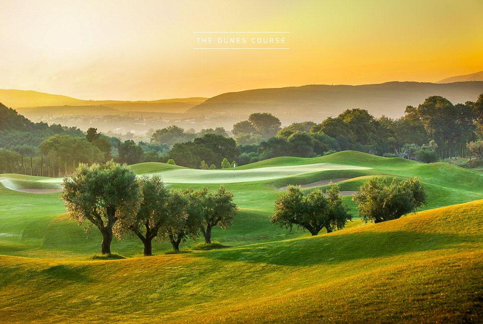 Costa Navarino Golf in Greece. The Dunes Course. Sports in Greece.