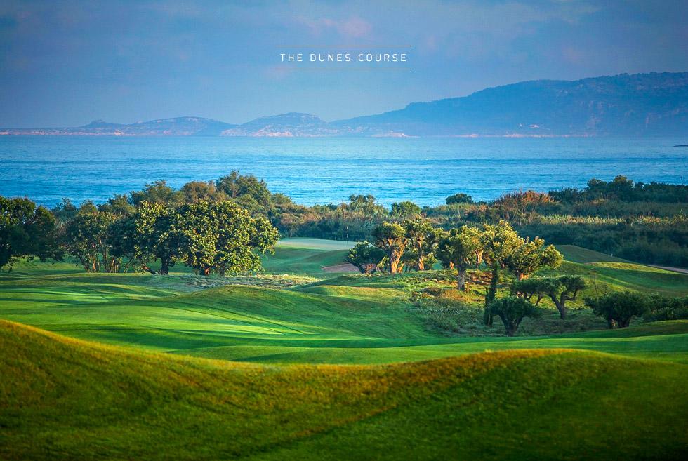 Costa Navarino Golf in Greece. The Dunes Course. Sport Activities in Greece.