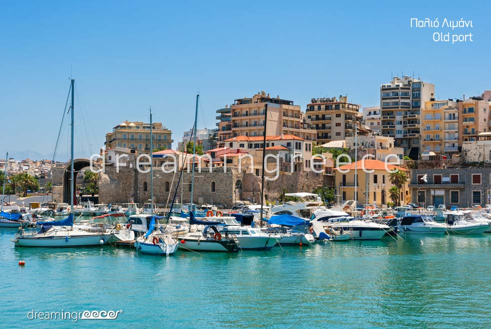 Travel guide of Heraklion Crete island Greece