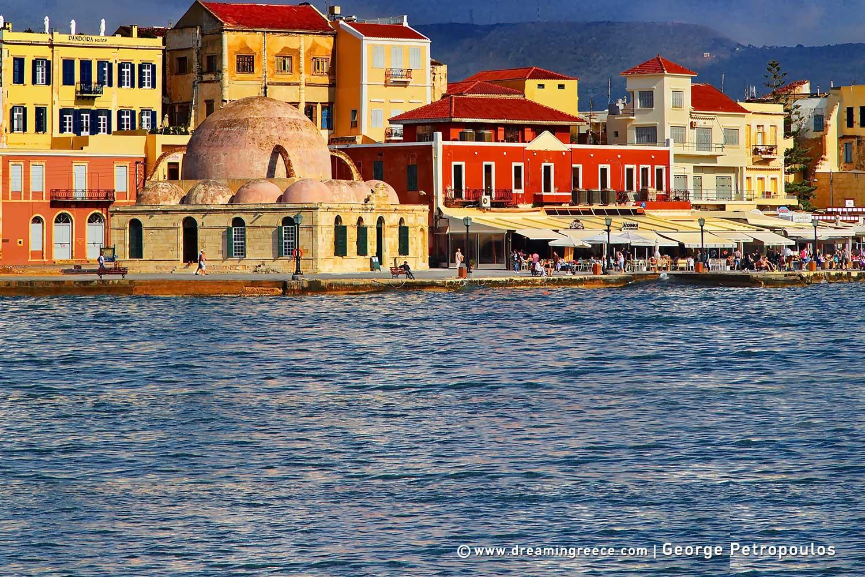 Holidays in Crete island Greece. Vacations Chania Rethymno Heraklion Lasithi