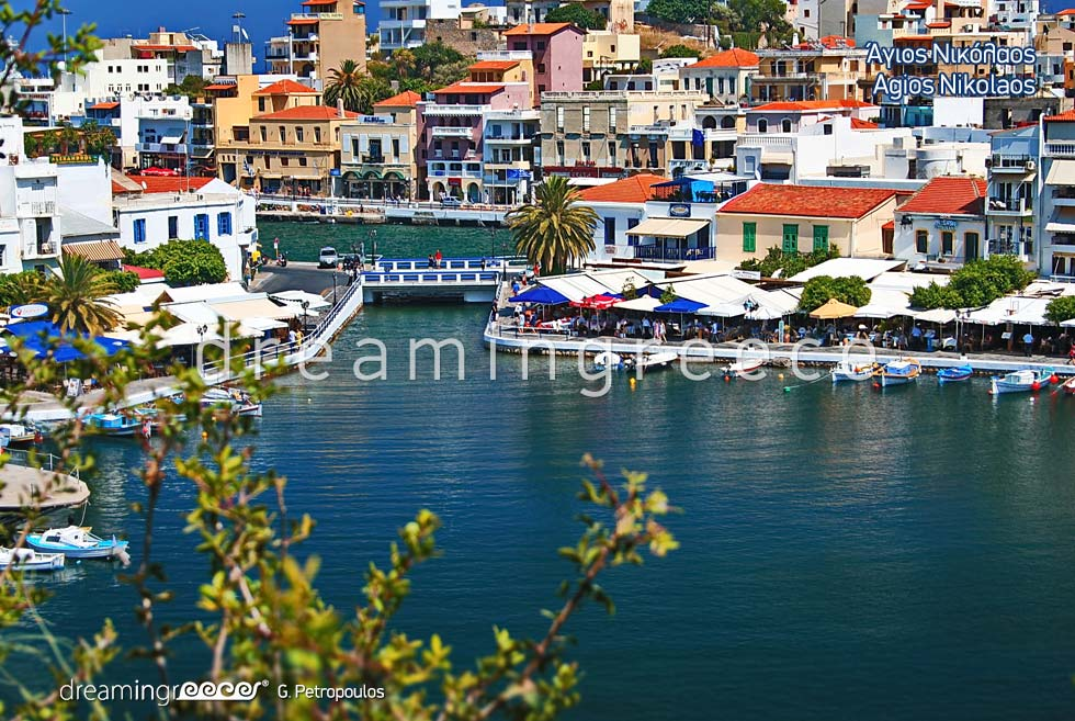 Travel guide of Agios Nikolaos Lasithi Crete island Greece
