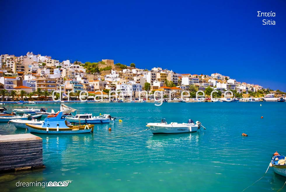 Sitia Lasithi Crete island. Summer Vacations in Greece