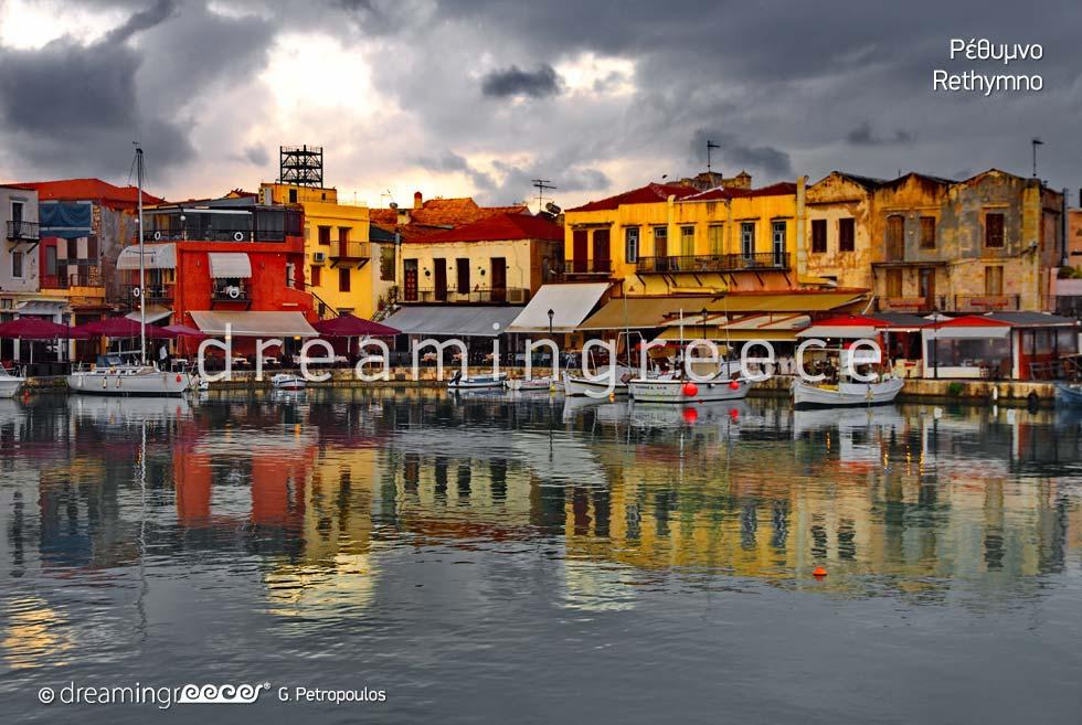 Travel Guide of Rethymno Crete island Greece