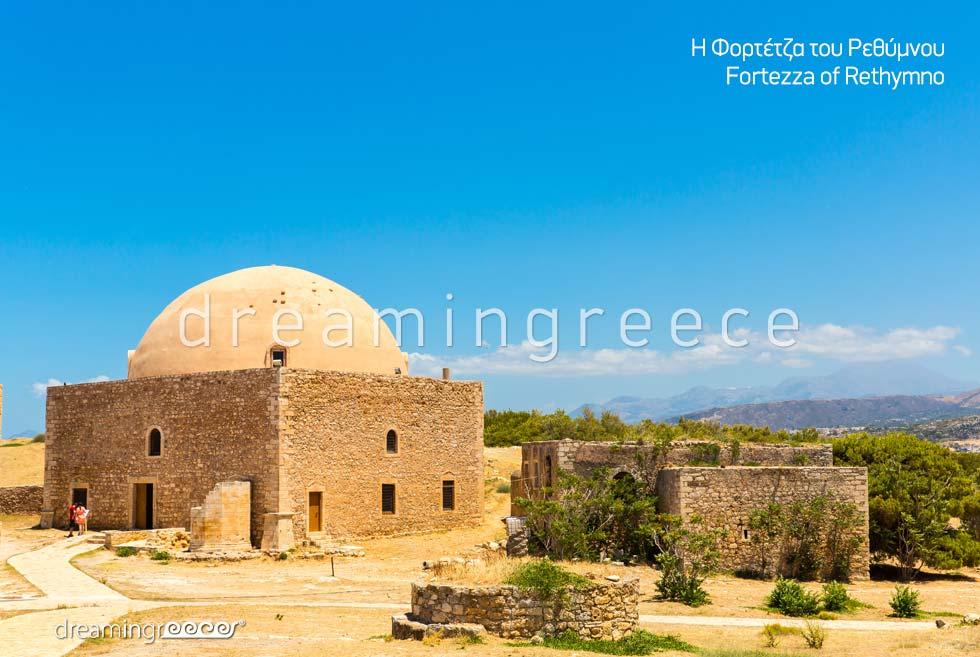 Fortezza Rethymno Crete island. Explore Greece