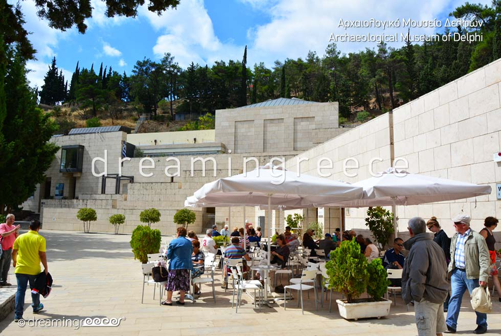 The Archaeological Museum of Delphi Greece