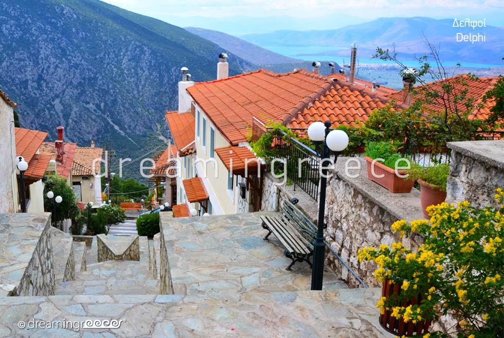 Vacations in Delphi Greece