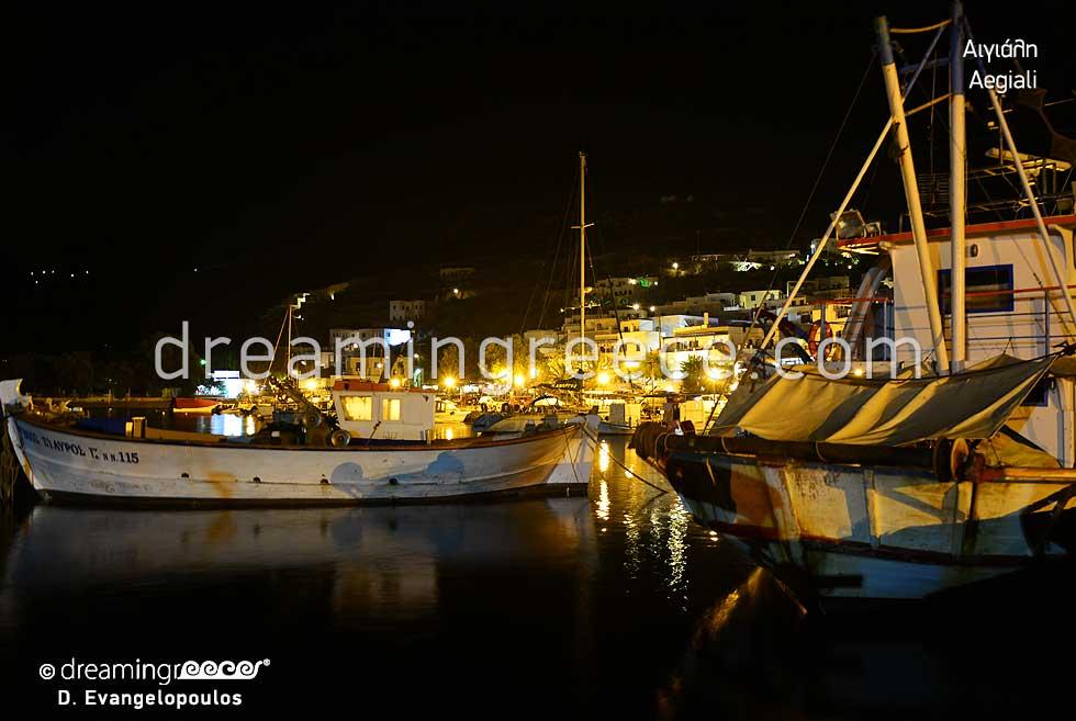 Aegiali in Amorgos island. Discover Greece