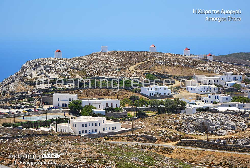 Tourist Guide of Amorgos island Greece Cyclades islands