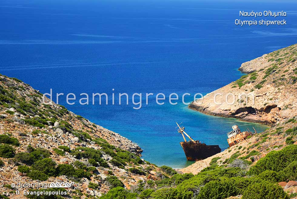 Shipwreck Olympia Amorgos Travel Guide