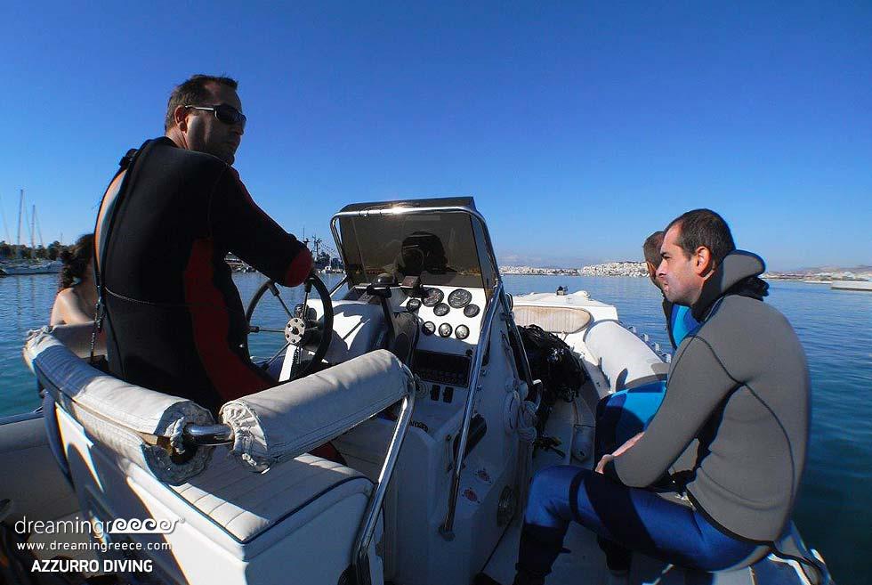 Scuba Diving in Athens Greece. Dive Athens.