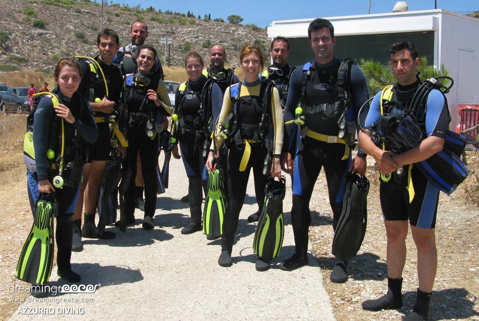 Scuba Diving in Greece. Diving Centers Greece. Greek Travel.